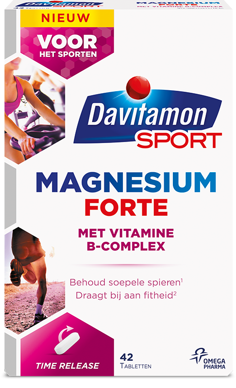 Davitamon Sport Magnesium Forte Time Release