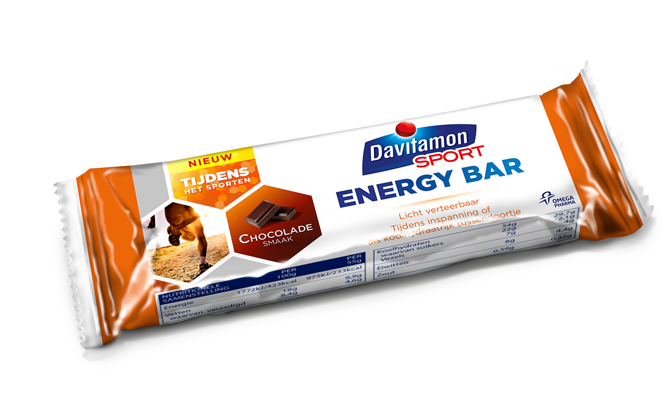 davitamon sport energy bar