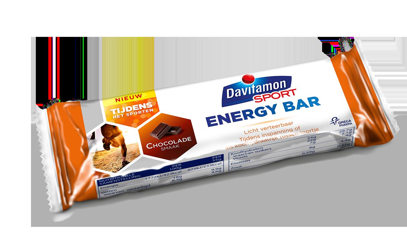 davitamon sport energy bar