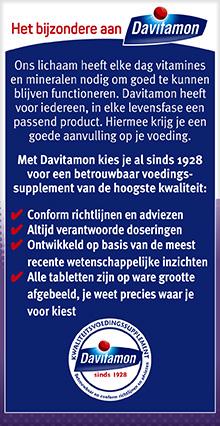 Davitamon Vitamine D 50+ 250 Smelttabletten Voordelen