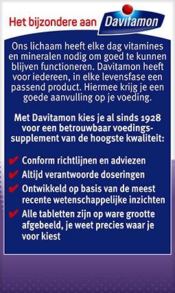 Davitamon Vitamine D volwassenen Smelttabletten Voordelen