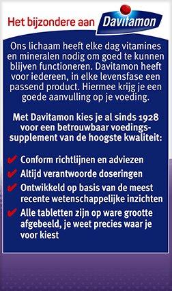 Davitamon Vitamine D3 Forte Smelttabletten Voordelen