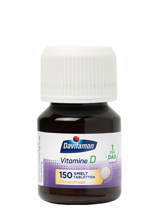 Davitamon Vitamine D Volwassenen Smelttabletten Product