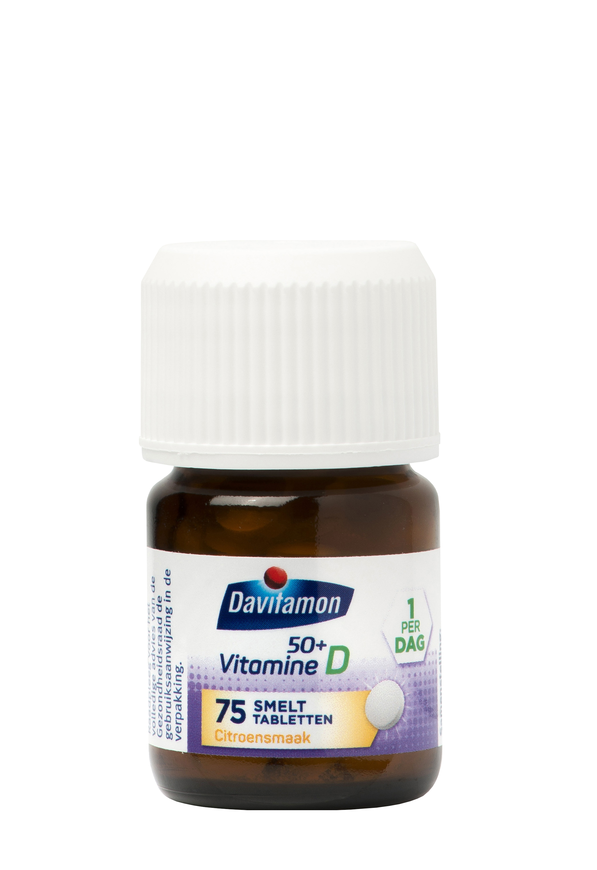 Davitamon Vitamine D 50+ Smelttabletten Product