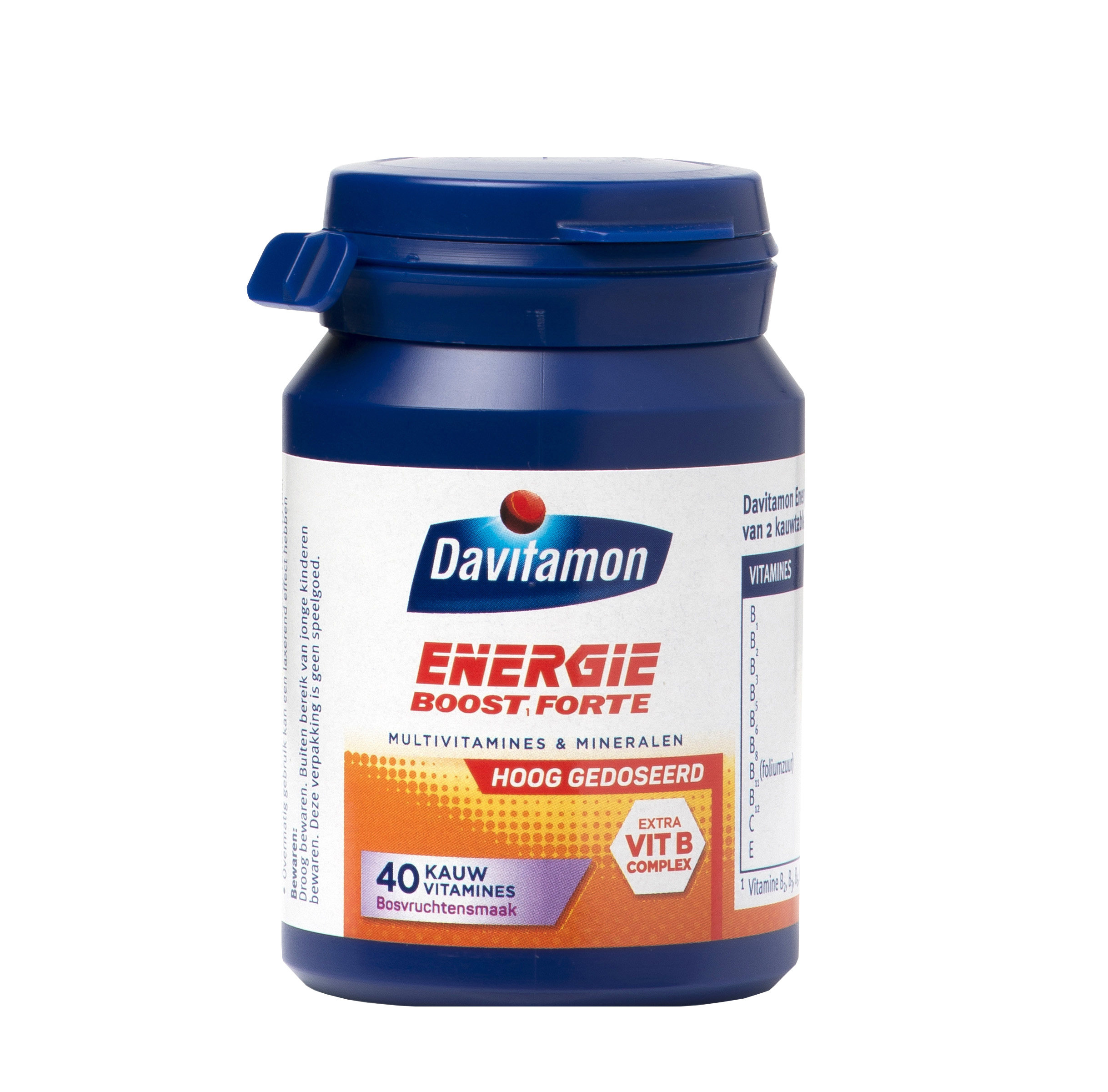 Davitamon Energie Boost Forte Kauwvitamines Product