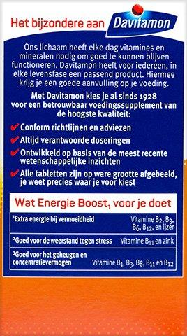 Davitamon Energie Boost Forte Kauwvitamines Voordelen