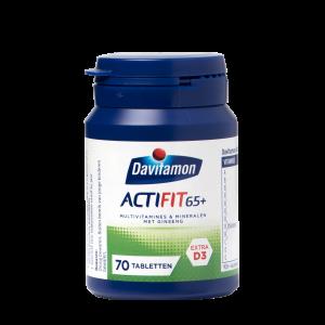 Davitamon Actifit 65+ Tabletten: multivitamines & mineralen met ginseng