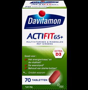 Davitamon Actifit 65+ Verpakking