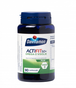 Davitamon ActiFit 50+ Visolie Tabletten Product