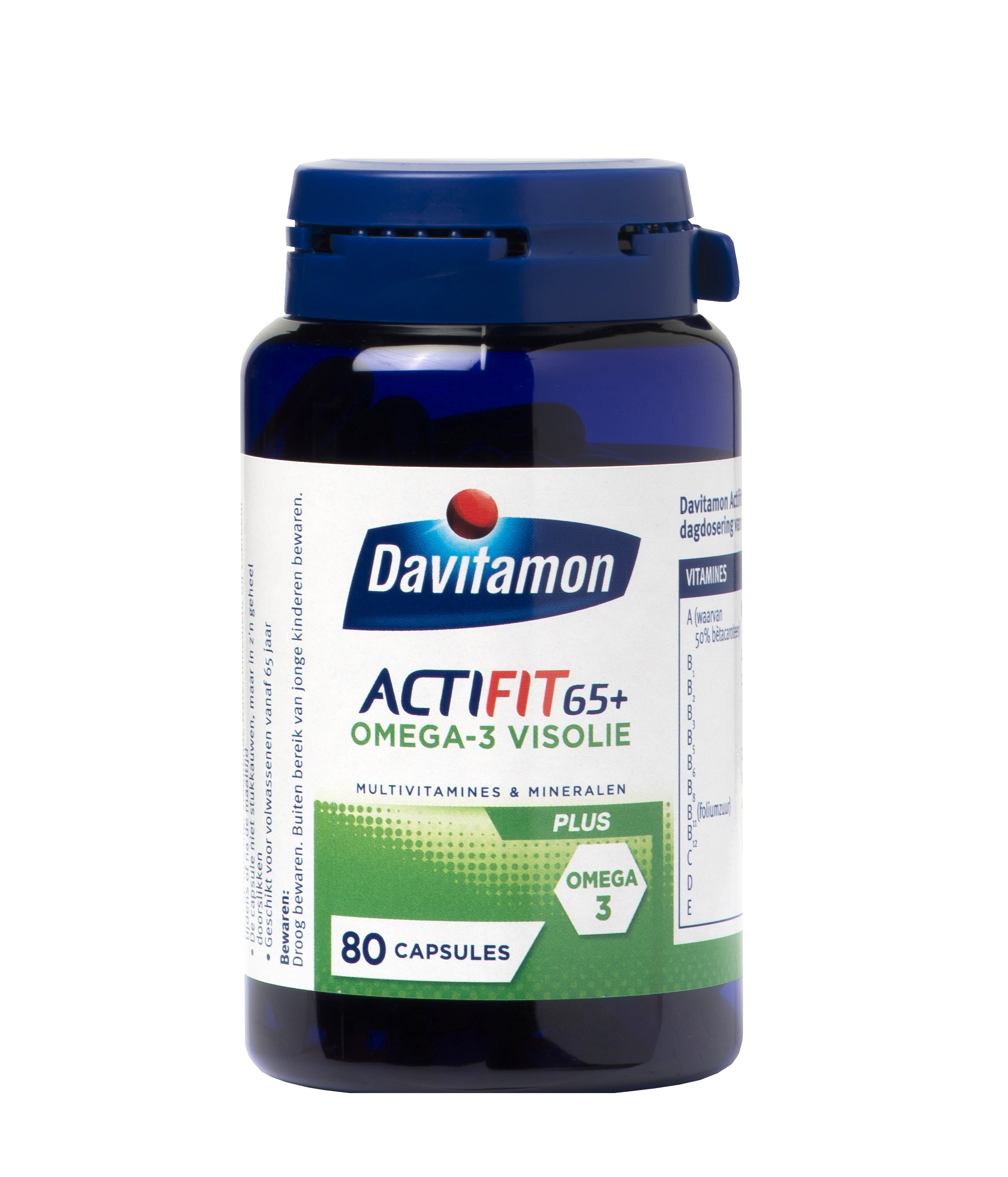 Davitamon Actifit 65+ Visolie Tabletten Product