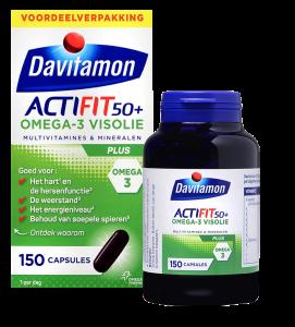 Davitamon Actifit Visolie Voordeel Capsules Verpakking totaal