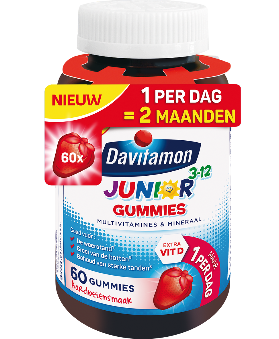 Davitamon Junior 3-12 Gummies Product