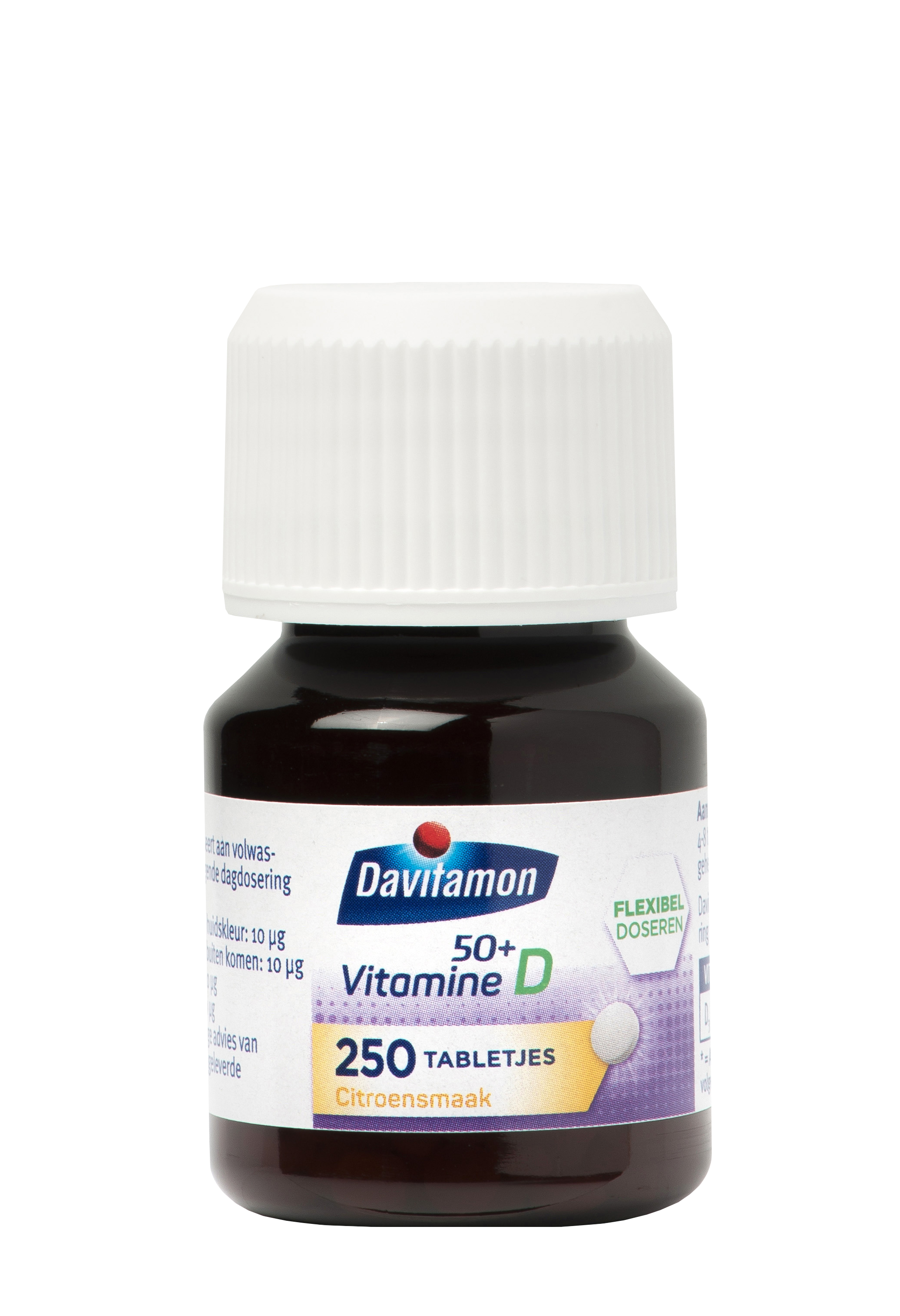Davitamon Vitamine D 50+ 250 Smelttabletten Product