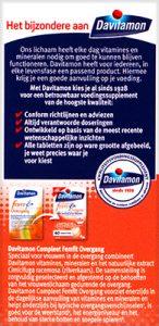 Davitamon Compleet FemFit Overgang Tabletten Voordelen
