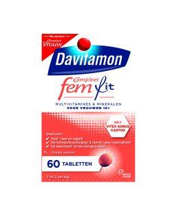 Davitamon Compleet FemFit Tabletten Verpakking