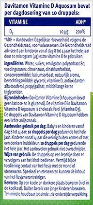 Davitamon Vitamine D Aquosum Druppels Ingredienten