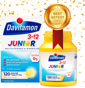 Best getest vitamine D voor kinderen