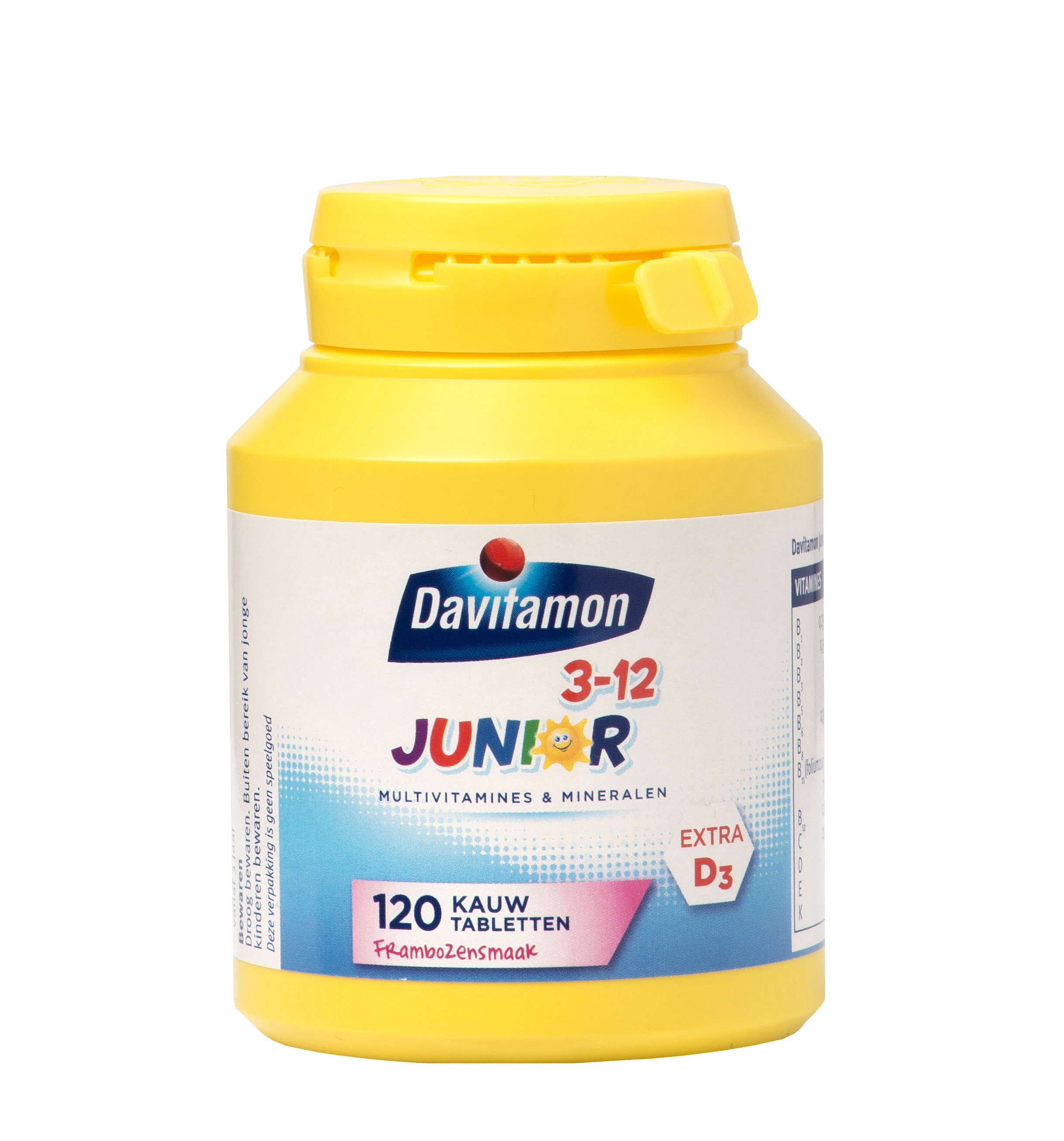 Davitamon Junior framboos Kauwtabletten Product 2