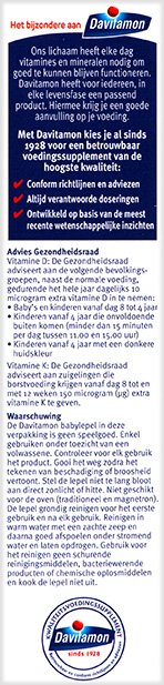 Davitamon Vitamine D K Olie Voordelen