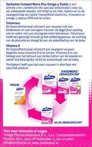 Davitamon Compleet Mama Visolie Capsules Gezondheidsraad