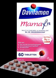 Davitamon Mamafit Tabletten Verpakking totaal