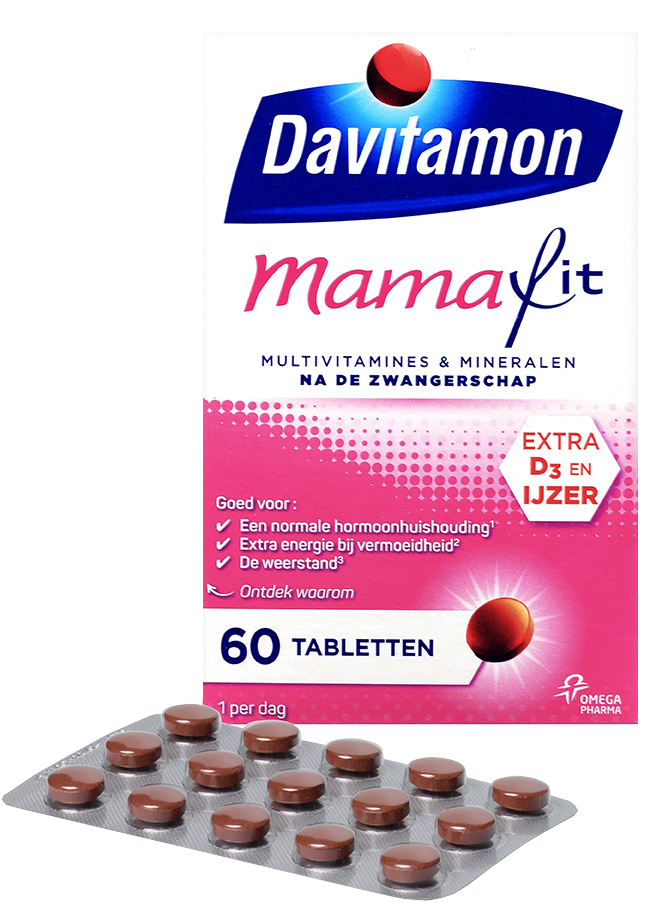Davitamon MamaFit &#8211; <br>60 tabletten