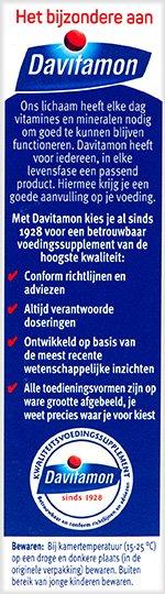 Davitamon Mamafit Tabletten Voordelen