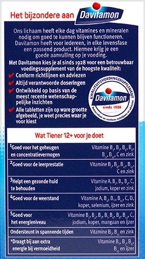 Davitamon Vitamine C Forte Bruistabletten Voordelen