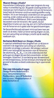 Davitamon Multi Boost Visolie Kauwcapsules Voordelen