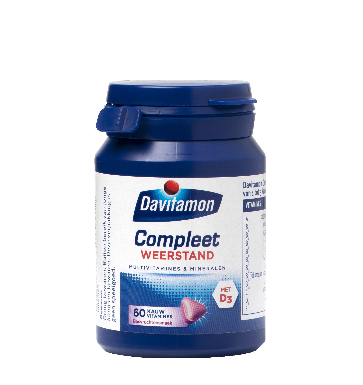Davitamon Compleet Weerstand Bosvruchten Kauwvitamines Product