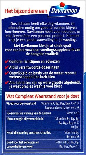 Davitamon Compleet Weerstand Bosvruchten Kauwvitamines Voordelen