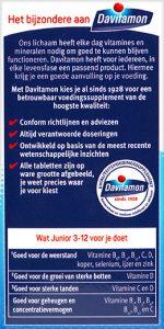 Davitamon Junior 3-12 Multifruit Kauwtabletten Voordelen