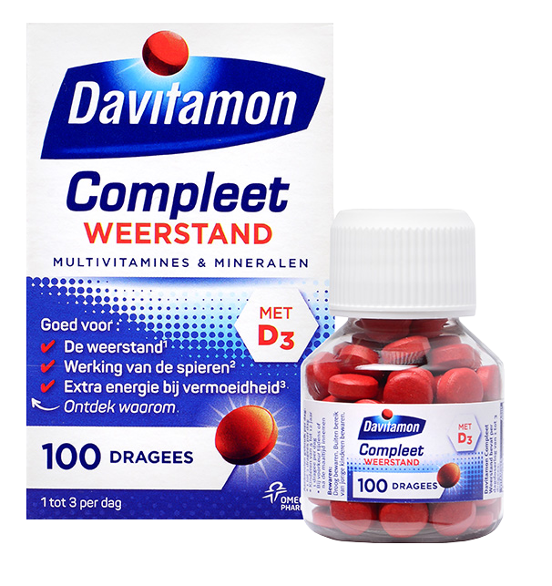 Davitamon Compleet Weerstand – 100 dragees