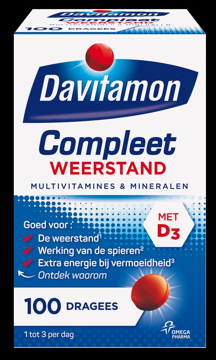 Davitamon Compleet Weerstand Dragees Verpakking