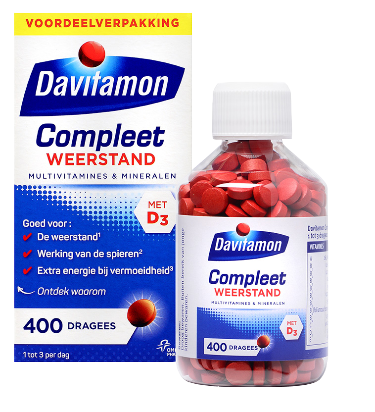Davitamon Compleet Weerstand – 400 dragees