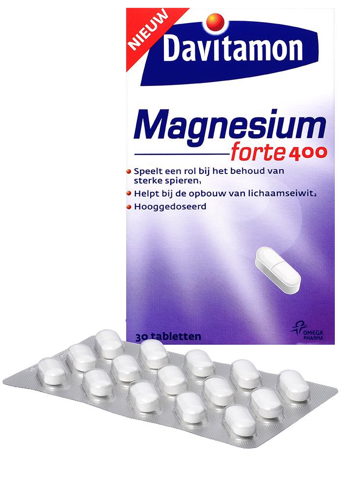 Davitamon Magnesium Forte Tabletten Verpakking totaal