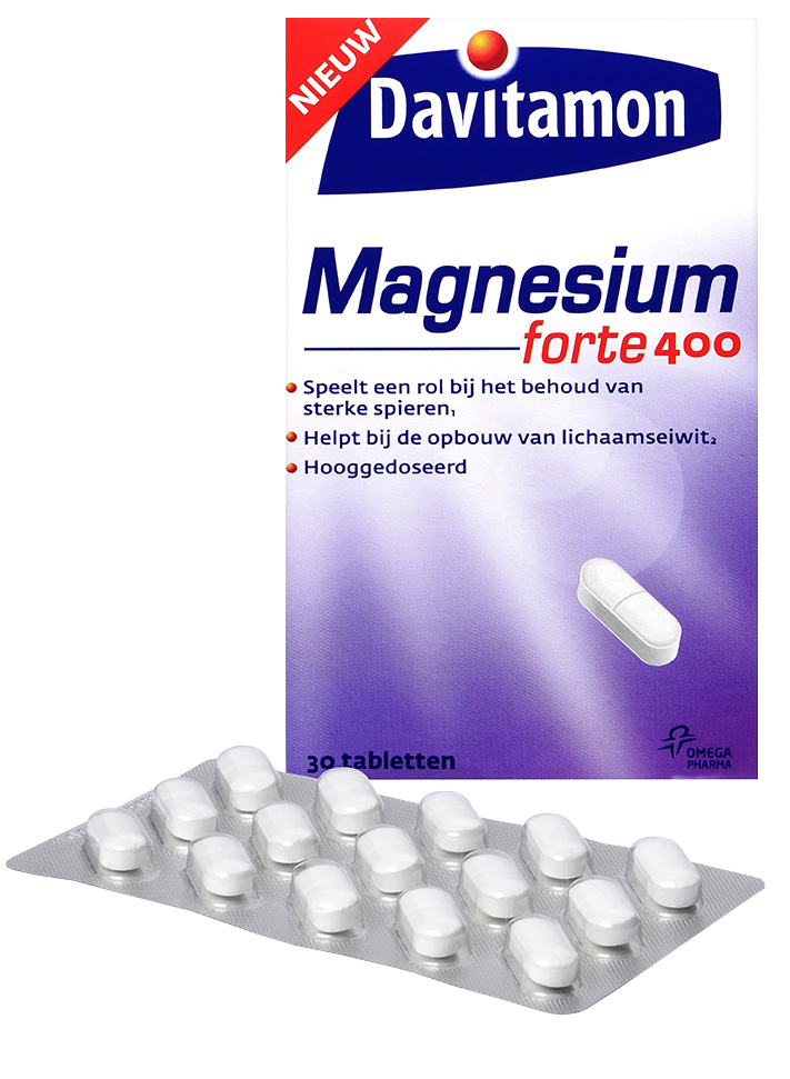 Davitamon Magnesium Forte 400 – 30 tabletten