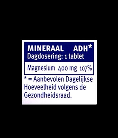 Davitamon Magnesium Forte Tabletten Dosering