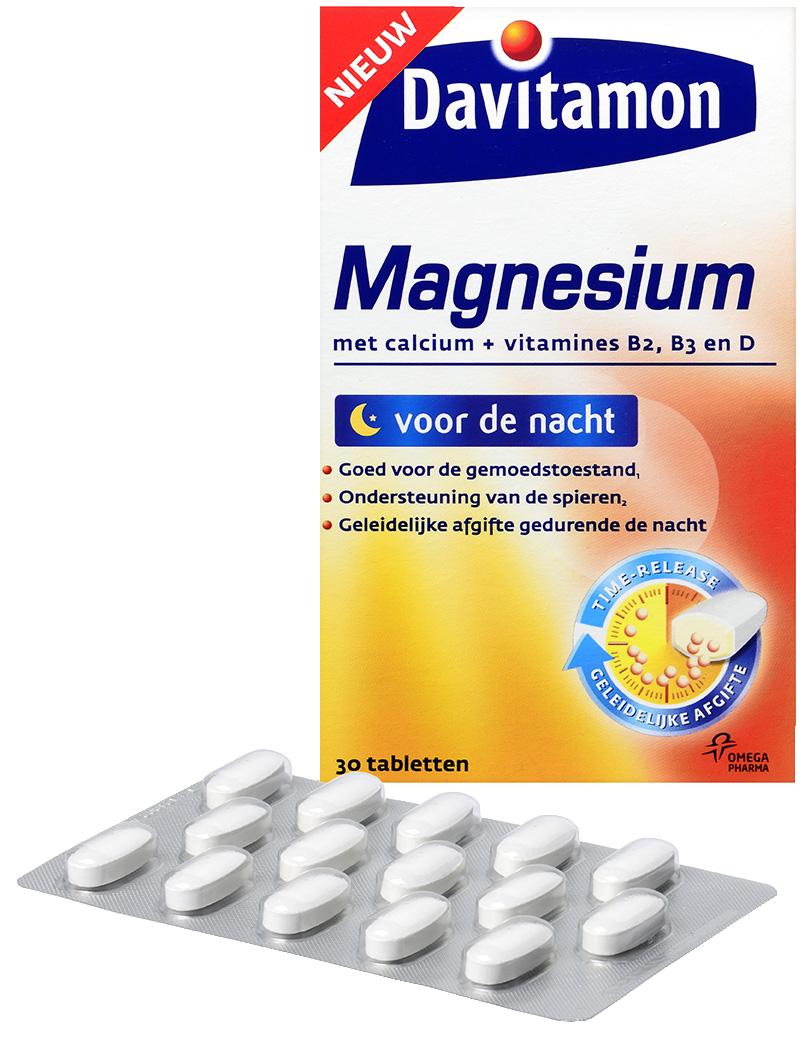Davitamon Magnesium voor de Nacht – 30 tabletten