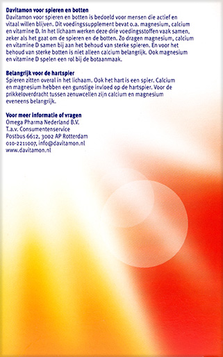 Davitamon Magnesium Spieren Botten Tabletten Voordelen