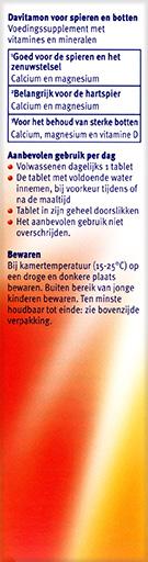Davitamon Magnesium Spieren Botten Tabletten Beschrijving