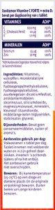 Davitamon Junior 2+ Aardbei Kauwvitamines Ingredienten