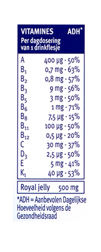 Davitamon Compleet Vitamine Kuur Drinkflesjes Dosering