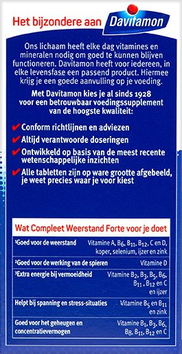 Davitamon Compleet Weerstand Forte Voordelen