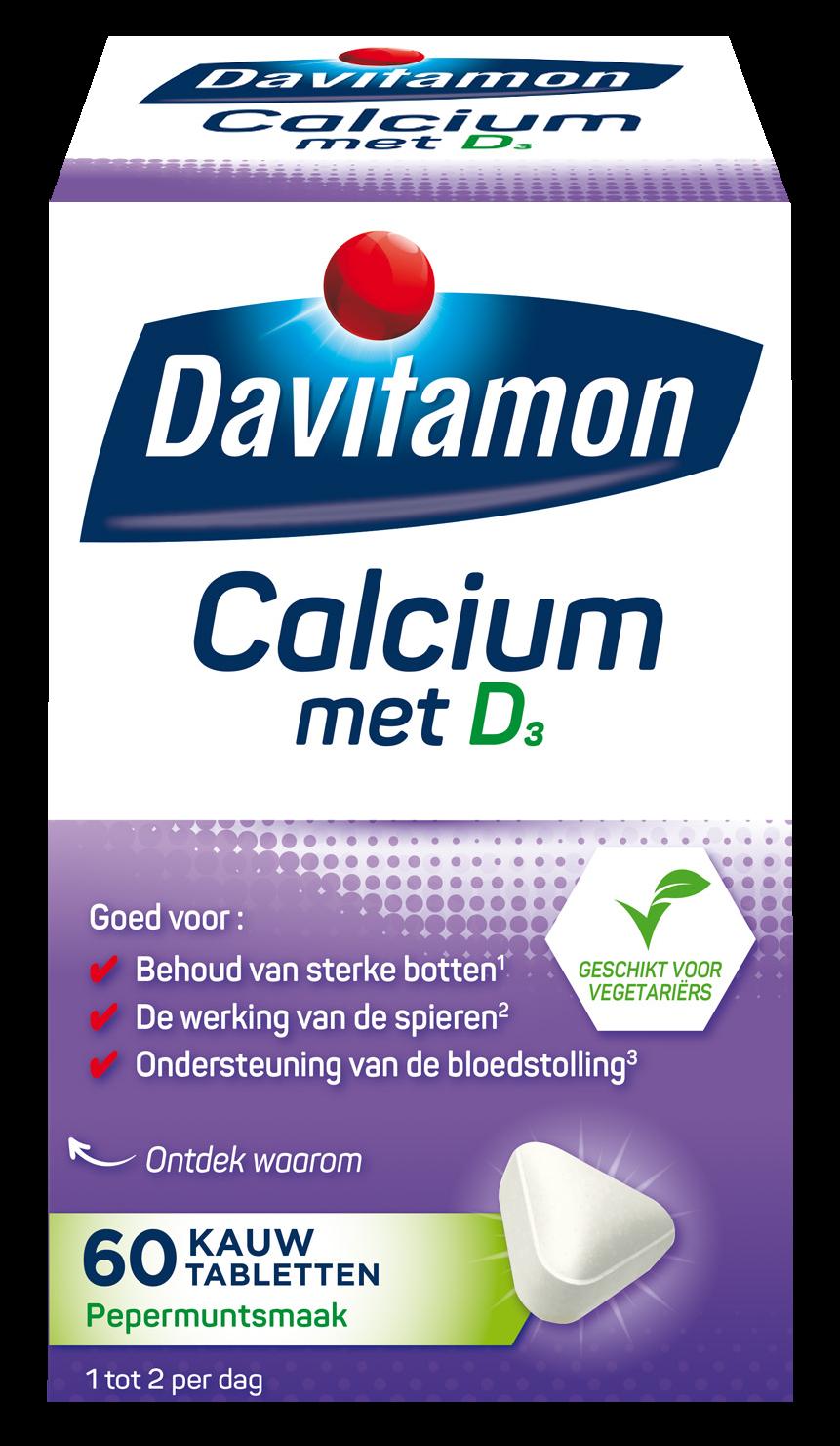 Davitamon Calcium D3 Gummies Verpakking