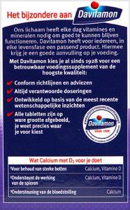 Davitamon Calcium Vitamine D Tabletten Voordelen