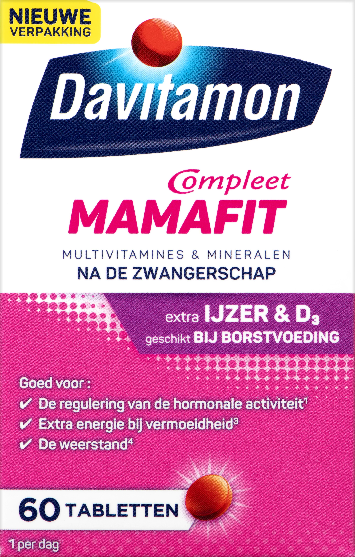 Davitamon Mamafit Tabletten Verpakking