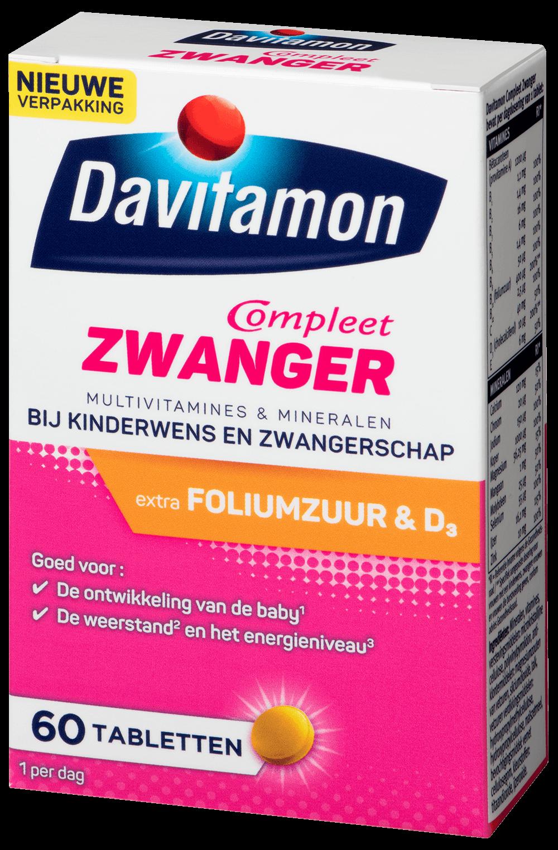 Davitamon Compleet Mama – <br>60 tabletten