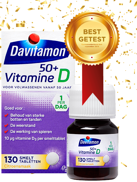 Davitamon vitamine D 50+ packshot