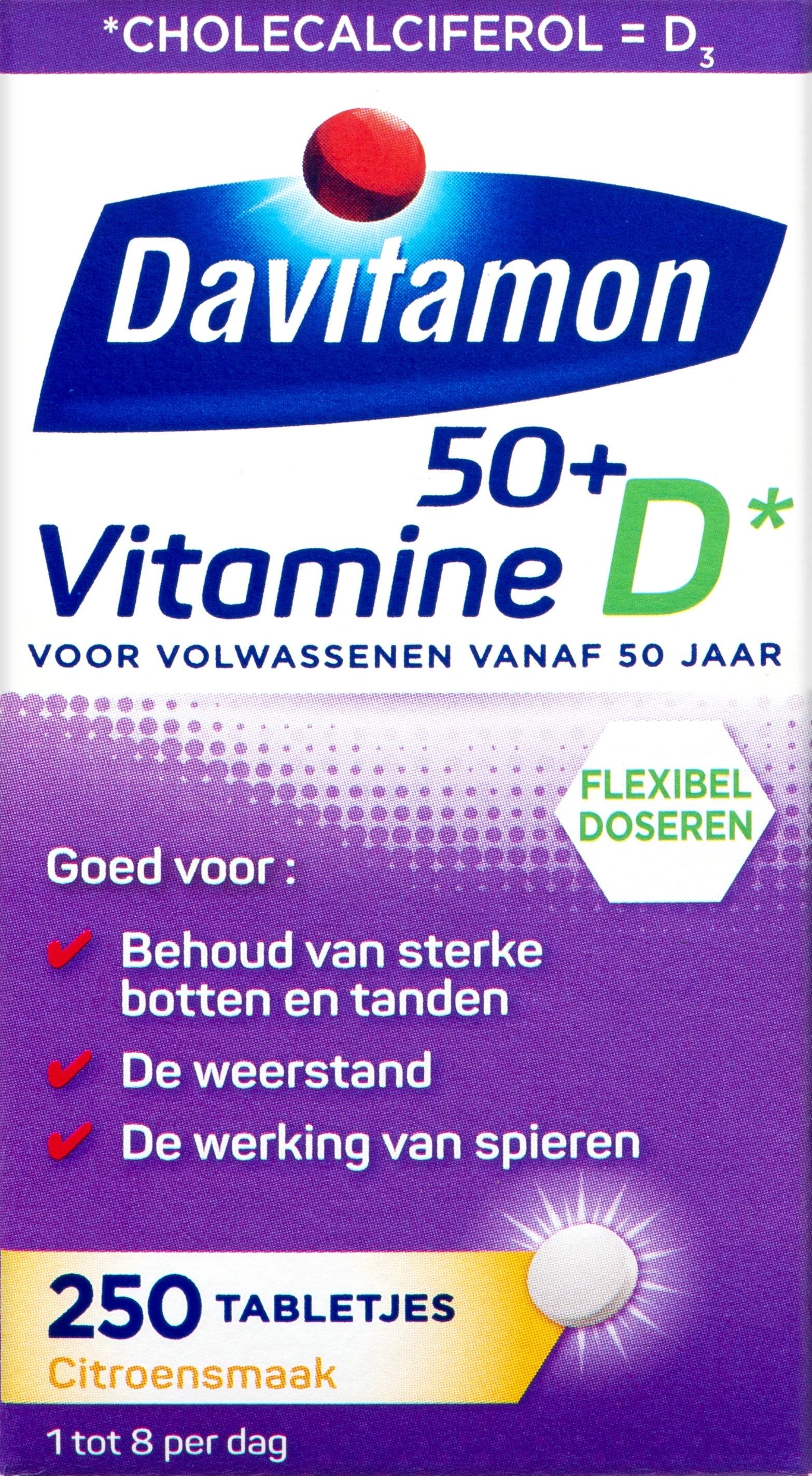 Vitamine D tabletten